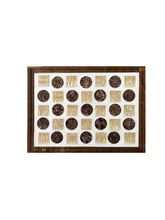 Ratios Coin Mats - Dark Brown (Set Of 6)