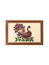 Ratios Danicing Peacock Table Mats (Set Of 6)