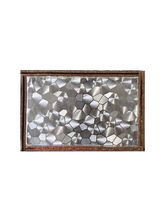 Ratios Metallic Silver Table Mats (Set Of 6)