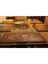 Ratios Paisley Table Mats (Set Of 6)