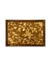 Ratios Gold Maze Table Mats (Set Of 6)