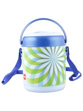 Cello Mark Blue Lunch Box 3 Containers, blue