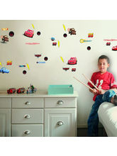 Decofun Cars Small Wall Stickers - 70003