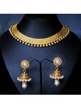 Golden And White Pearl Set