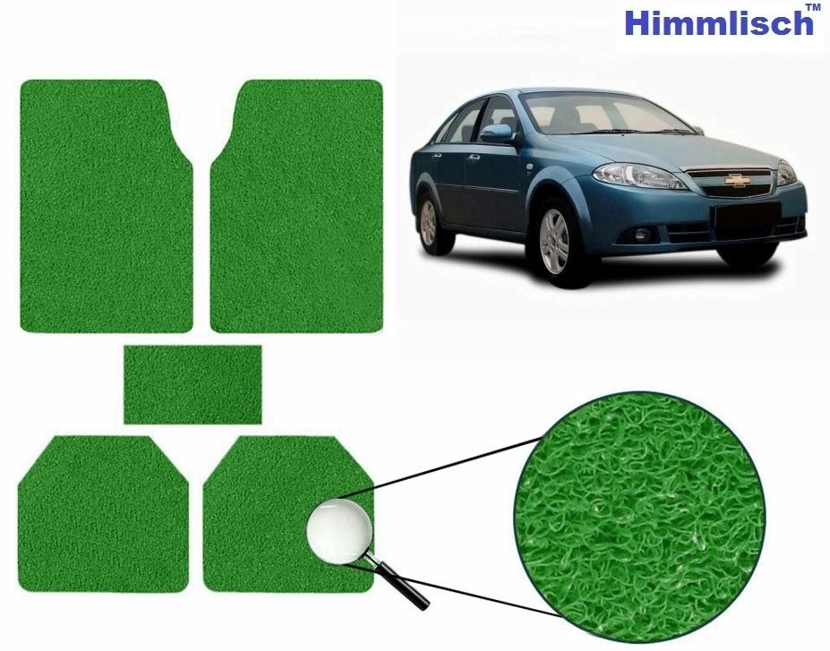 Himmlisch Anti Slip Noodle Car Floor Mats SET OF 5 -Chevrolet Optra Magnum, green