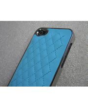 Sheep Skin/Leather Style Case For IPhone 5, Blue