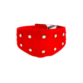 Zorba Designer Fancy Collar with Studded Pearls for Dogs, medium
