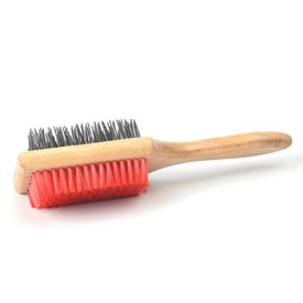 Kennel Two Sided Square Grooming Brush, large