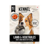 Kennel Kitchen Lamb and Vegetables Adult Large Breed Dog Food, 500 gms