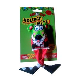 Fat Cat World-famous Holiday Mice Catnip Toys for Cats and Kittens, universal