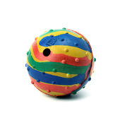 Kennel Solid Rubber Musical Ball for Small to Medium Dogs, small 6 cms