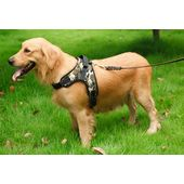 GP Heavy Duty Sports Reflective Senior Dog Harness for Large to Giant Dogs, camouflage, xxl