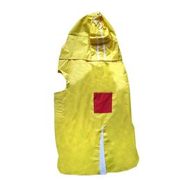 Rays Deluxe Raincoat for Giant Dogs, 32 inch, yellow