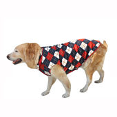 Zorba Designer High Quality Winter Coat for Giant Breed Dogs, classic checks, 32 inch