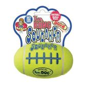 Kong Air Dog Rugby Shaped Squeaker Dog Toy, small