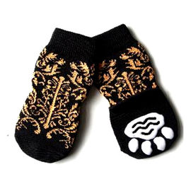 Puppy Love Anti Skid Socks for Giant Breed Dogs, tiger stripes, 3xl