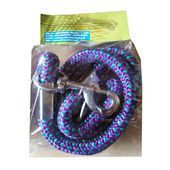 Canine Extra Thick Braided Reflective Rope Lead, purple, xl