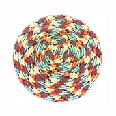 Canine Fine Rope Training Frisbee for All Dog Breeds, universal