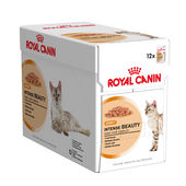Royal Canin Gravy Intense Beauty Cat Food, 1.02 kgs, 12