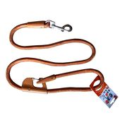 Nunbell Double Lock Thick Nylon Rope Lead for all Dogs, orange, 48 inch