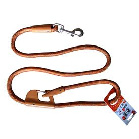 Nunbell Double Lock Thick Nylon Rope Tying Lead for all Dogs, blue, 48 inch
