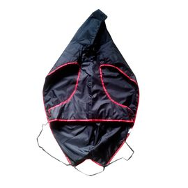 Zorba Designer Dual Protection Black Raincoat for Giant Dogs, 32 inch