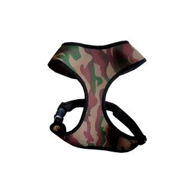 Puppy Love Camouflaged Cotton Vest Harness for Small to Medium Breed Dogs, camouflaged, extra large