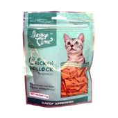 Jerky Time Chicken Pollock Sandwich Cat Treat, 75 gms