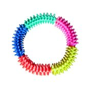 PRC Scented Spiked Ring Dog Toy, large, multicolour