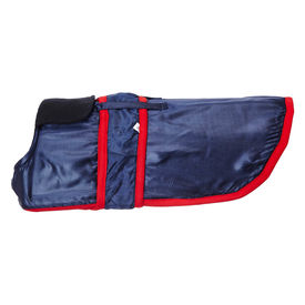 All4Pets Premium Dog Coat for Large Dogs, 28 inch, navy blue