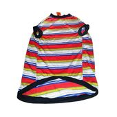 Kennel Striped Thick Tshirt for Large Breed Dogs, red, 15 no