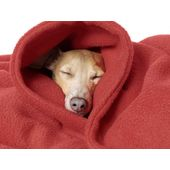 Rays Designer Premium Fleece Warm Blanket for All Dogs & Cats, red, 54 x 36 inch
