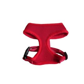 Puppy Love Air Mesh Harness for Toy Breed Dogs, red, small
