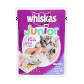 Whiskas Junior Mackerel Kitten Wet Food, 85 gms