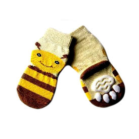 Puppy Love Anti Skid Socks for Medium to Large Breed Dogs, tiger stripes, xl