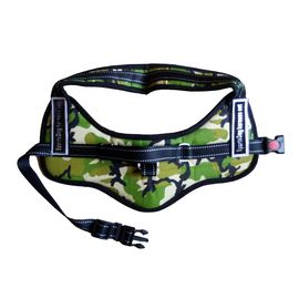 GP Heavy Duty Reflective Sports Dog Harness Set for Large Dogs, camouflage, large