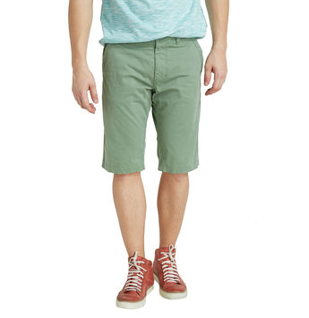 Breakbounce Moukato Solid Regular Fit Shorts,   hedge green, 28