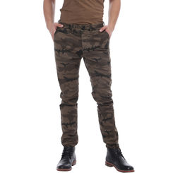 Breakbounce Sephiroth Skinny Fit Printed Trousers,  roasted camou, 32