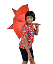 Cat Shaped Umbrella For Kids, Red