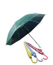 Transparent Umbrella For Women, Green