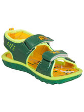 Tulaasi Attractive Synthetic Kittos for Kids Beautiful, 8, green and yellow