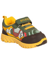Tulaasi Kids sports shoes with synthetic sole Wonderful, 7, yellow