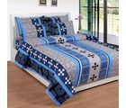 Best Deal Double Bed Sheet With Pillow Cover Cottonwa0030, multicolor