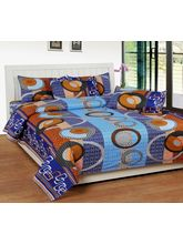 Best Deal Double Bed Sheet With Pillow Cover Poly Cotton006, multicolor