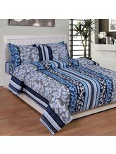 Best Deal Double Bed Sheet With Pillow Cover Cottonwa0025, multicolor