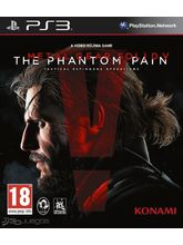 Metal Gear Solid V: The Phantom Pain PS3, dvd