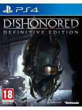 Dishonored (Definitive Edition) PS4, dvd