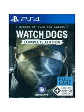 WatchDogs Complete Edition-PS4, dvd