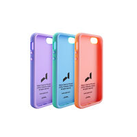 iPhone 5 Dual-Color Case(Light Blue+ Black) - JCP3068