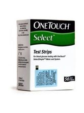 OneTouch Select Simple Test Strips 50 Strips